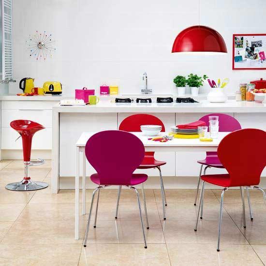 ไอเดียการเลือกสีให้ห้องครัวสวย