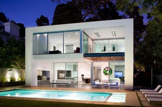 แบบบ้านสวยสไตล์โมเดิร์นและดูสบาย