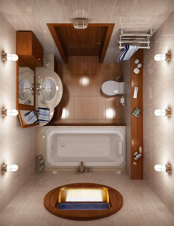 แบบห้องน้ำขนาดเล็กสวย ๆ ที่คุณ(อาจ)มองหาอยู่