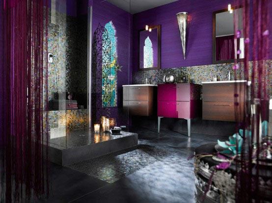 ตกแต่งห้องน้ำสวยสไตล์โมร๊อกโค