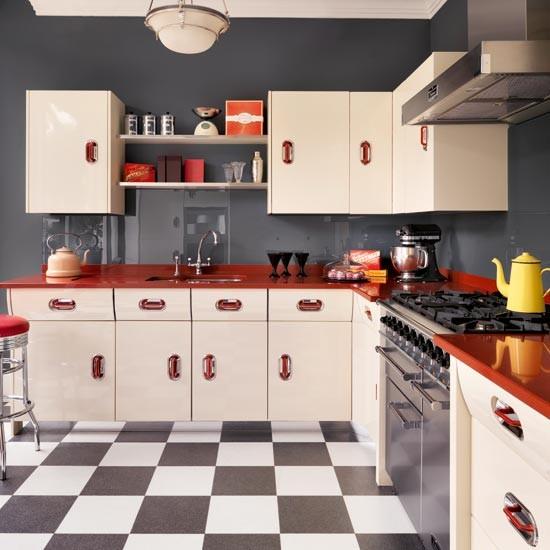 ห้องครัวเก๋ ๆ หลากสีสัน