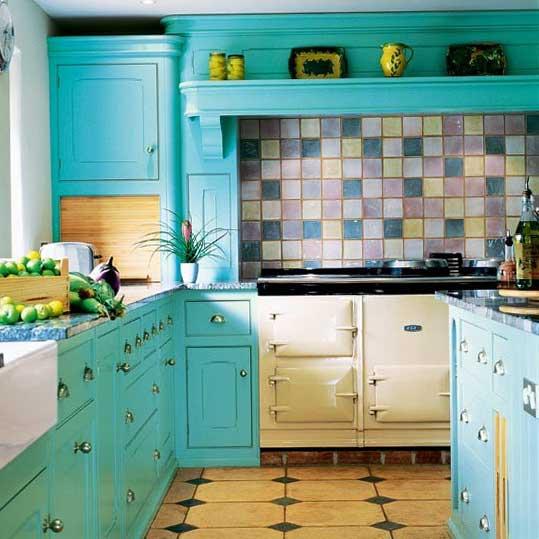แบบห้องครัวสีสวย ๆ นะคะ