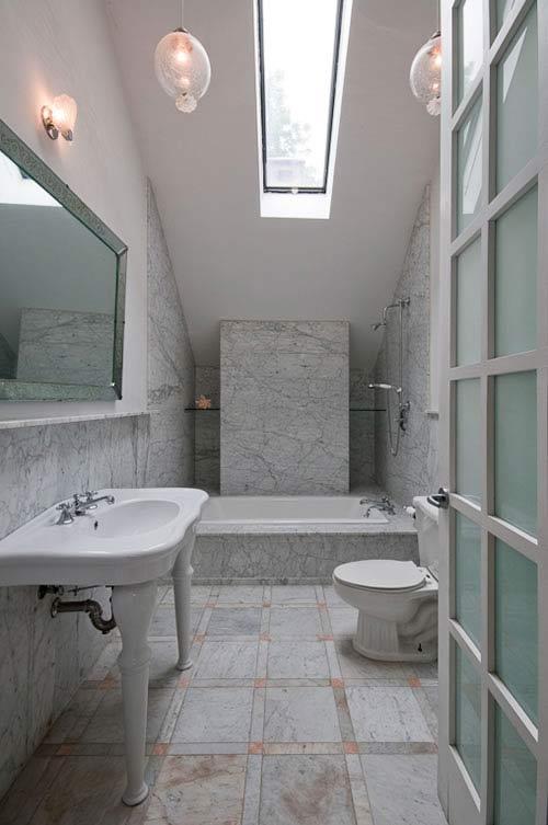 ห้องน้ำสวย หรูหราได้ในพื้นที่จำกัด เพิ่มความงามให้บ้านคุณ