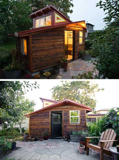 แบบบ้านหลังเล็ก ๆ แยกออกจากตัวบ้านหลังใหญ่